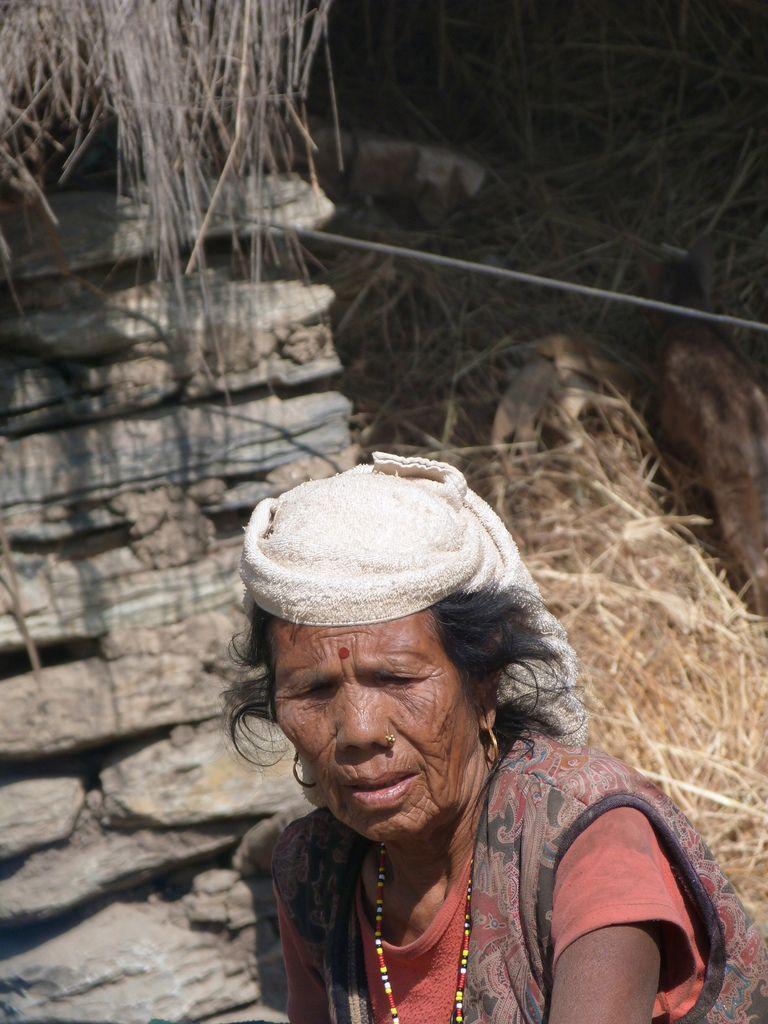 Des visages nepalais