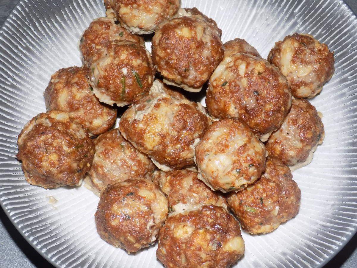 Croquettes chou-fleur/boeuf  dukan
