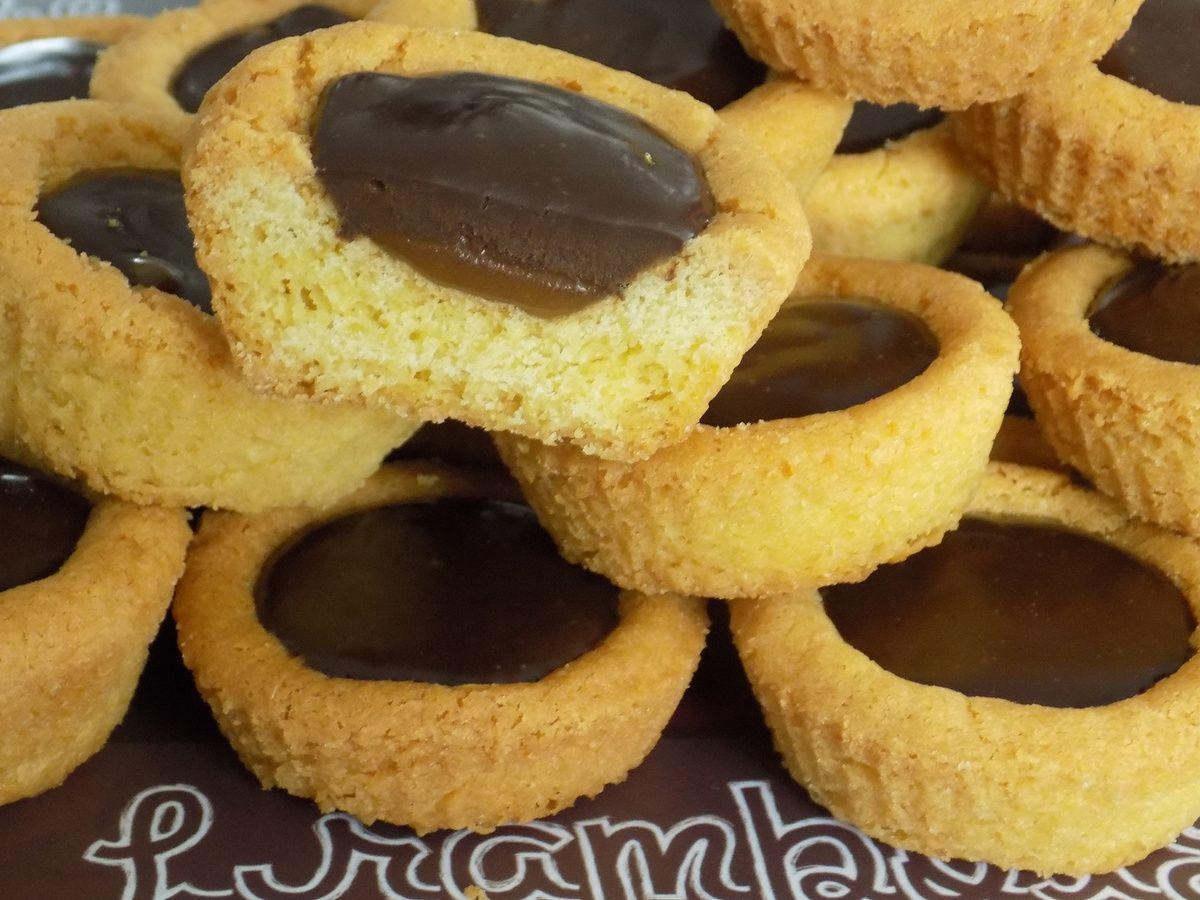 Palets bretons chocolat et caramel beurre salé