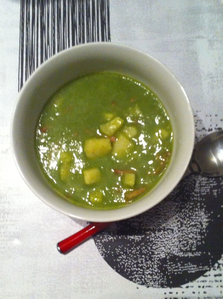 Soupe campagnarde &quot&#x3B;cresson/panais&quot&#x3B; thermomix Dukan