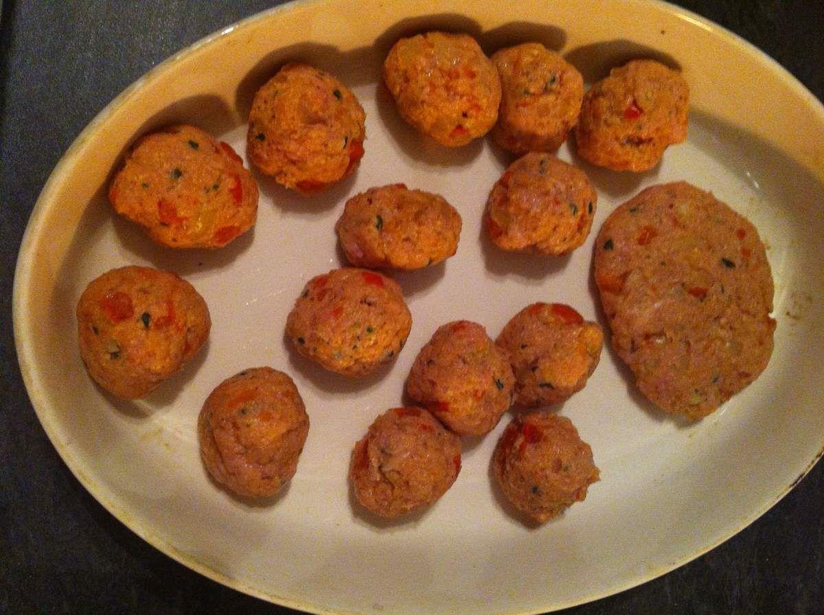 Boulettes/steaks de veau épicées aux protéines de soja Dukan