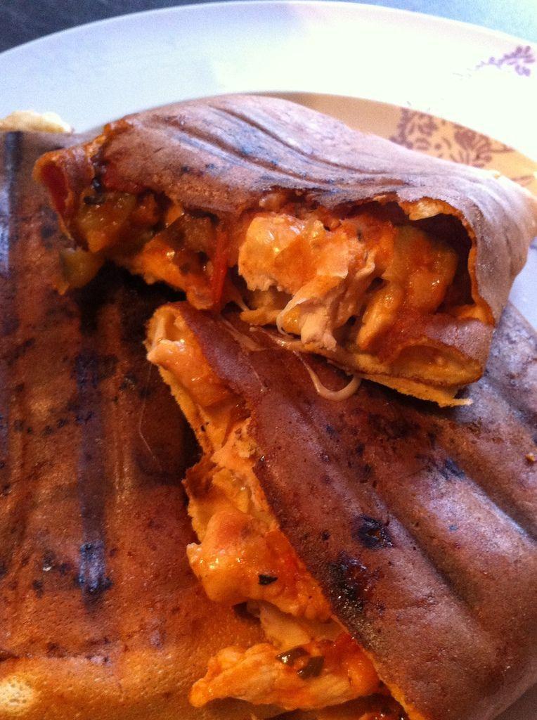 Tacos poulet et ratatouille Dukan - La cuisine de Fanie