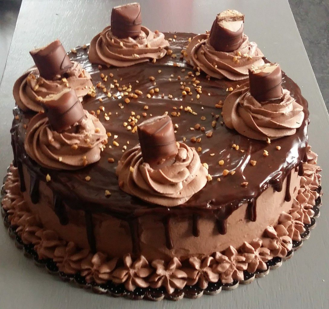 Gateau roule kinder bueno thermomix