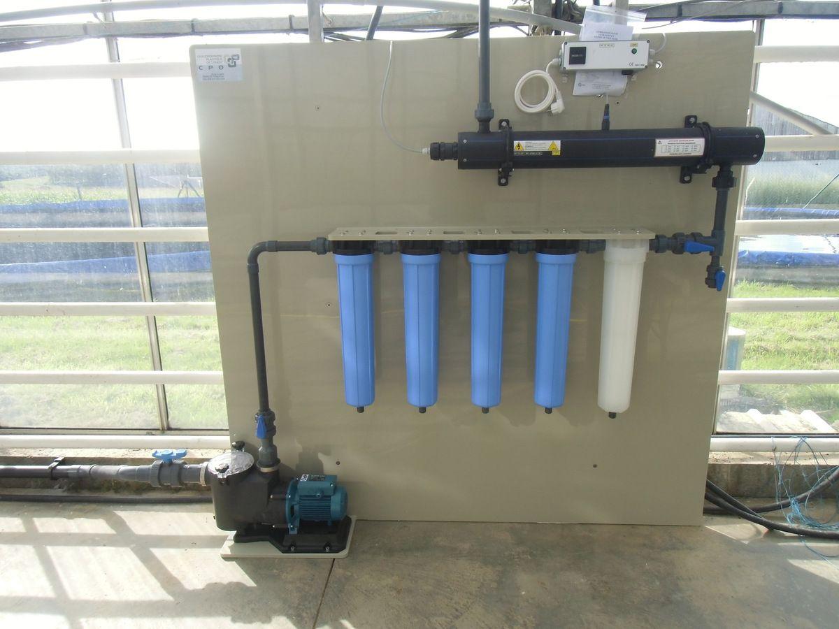 Réseau de filtration
