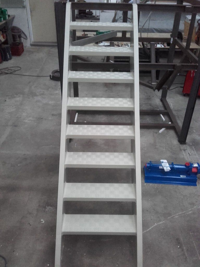 Escalier antidérapant