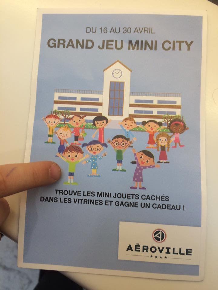 Mini city à Aéroville (95)
