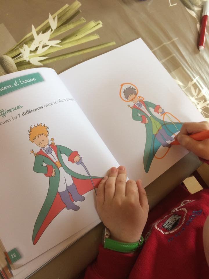 """Cahier d'activités """"Le Petit Prince"""" éditions Fleurus"""