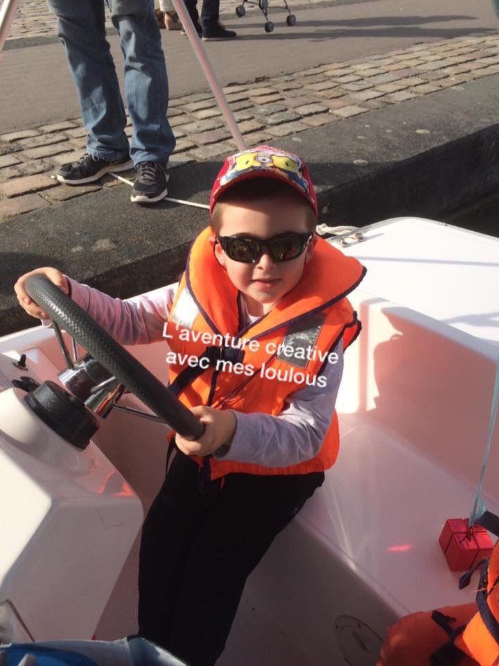 Anniversaire sur les bateaux électriques Marin d'Eau Douce