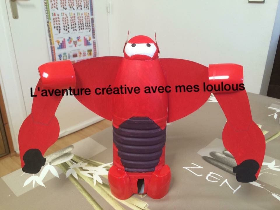 Baymax rouge