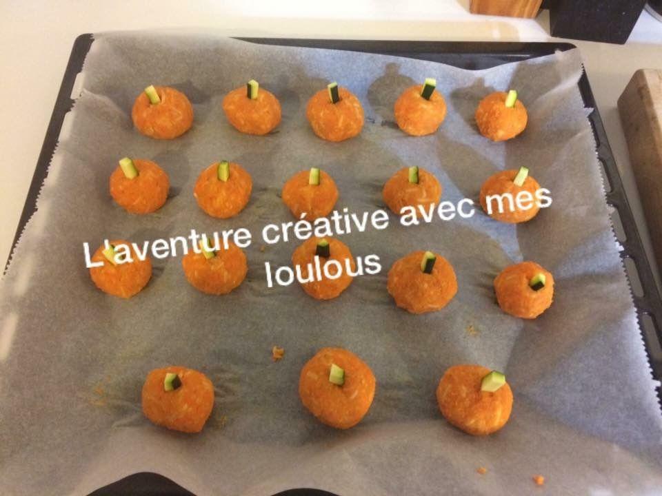 Mini citrouilles d'Halloween