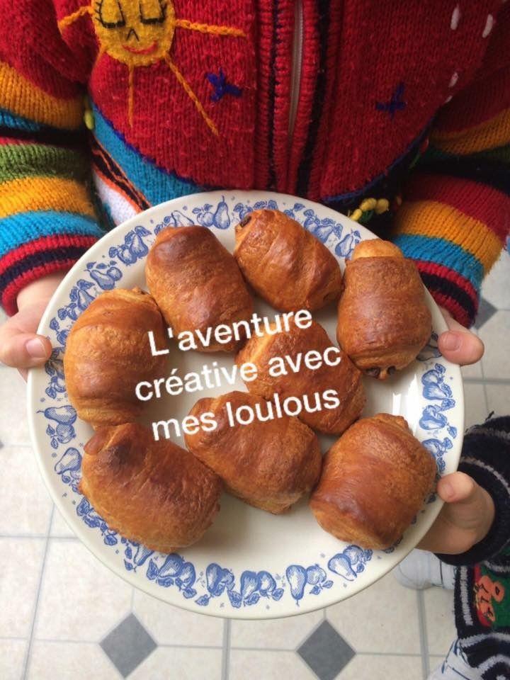 Petits pains au chocolat Croustipate