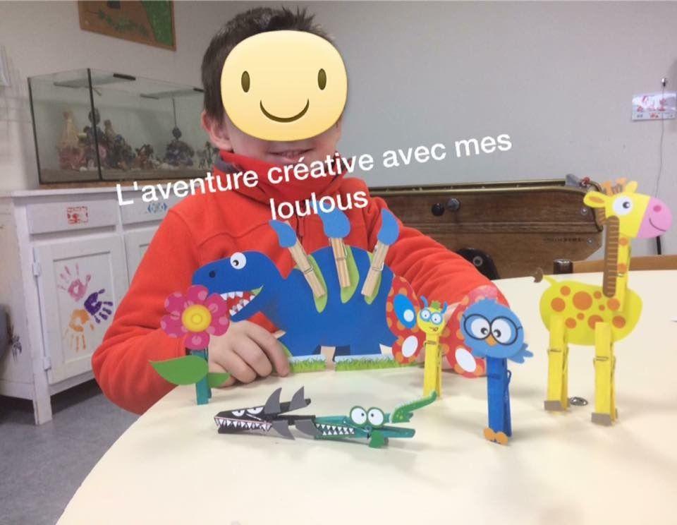 Figurines pinces à linge Ses Créative