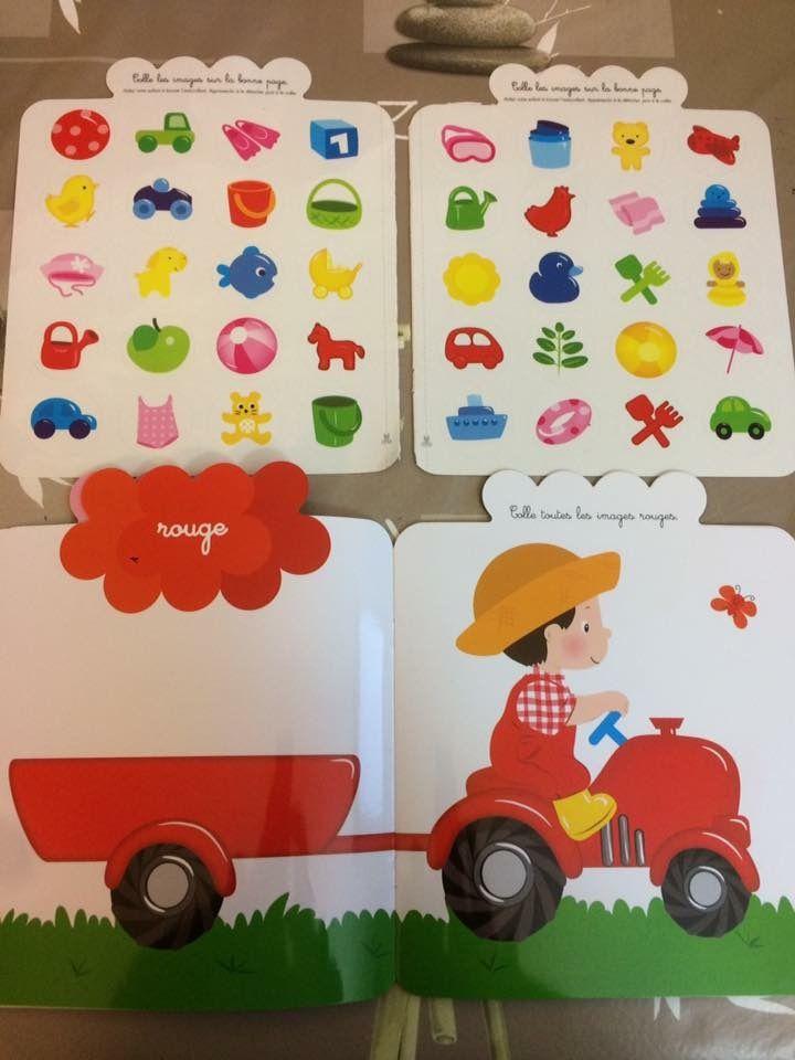 Autocollants Petite fleur Le Tracteur Editions Lito