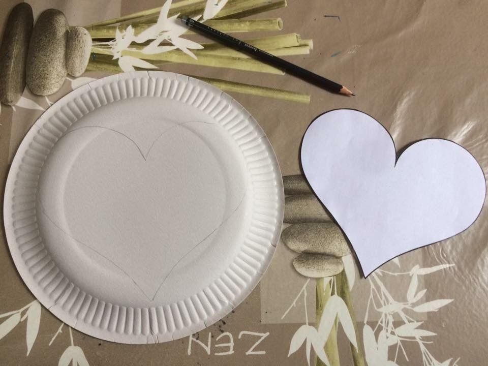 Assiettes décorées Fête des Grands Mères