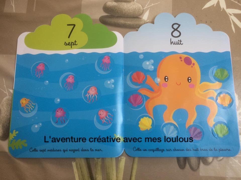 J'apprends à compter 3 grenouilles Editions Yoyo