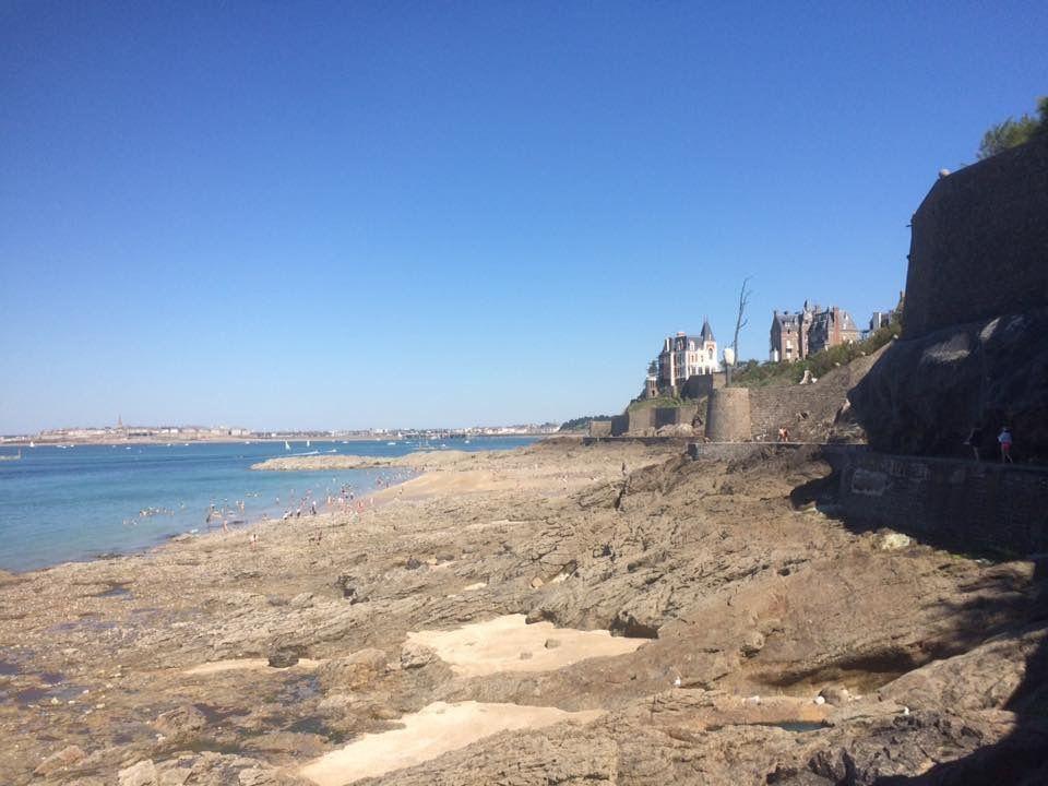 Plage de Dinard Bretagne