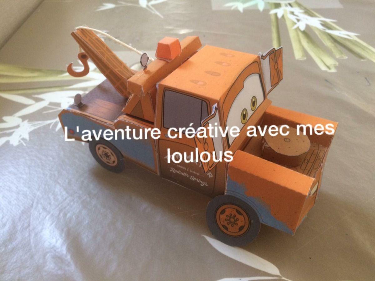 Décorations Cars en 3D