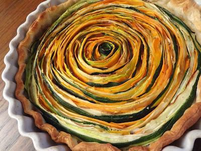 tarte courgettes carottes