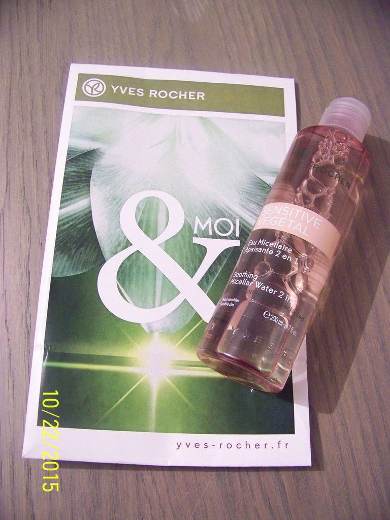 diagnostic de peau Yves Rocher / My Little Box