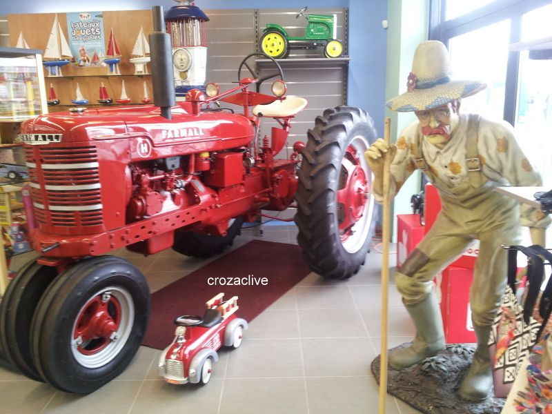 un tracteur de collection Farmall