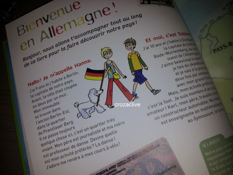 A toi l'ALLEMAGNE !