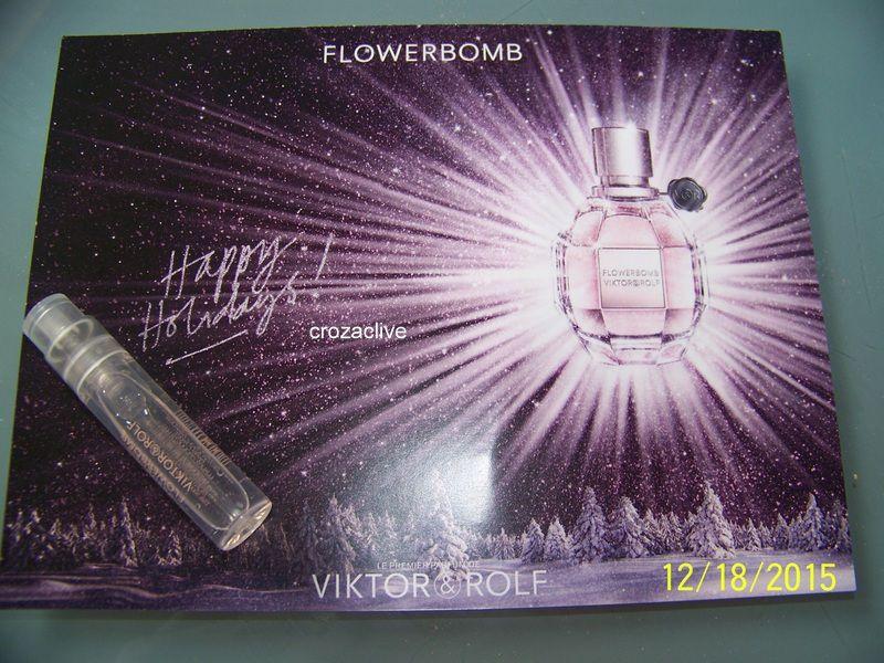Parfum VIKTOR&ROLF, flowerbomb : clin d'oeil 1