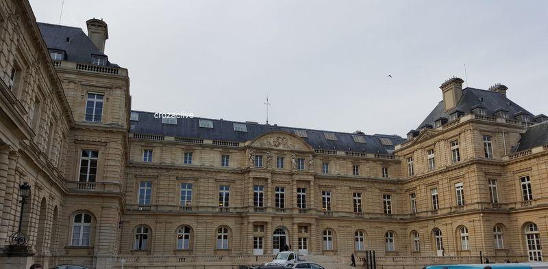 Ma visite du Sénat, Palais du Luxembourg
