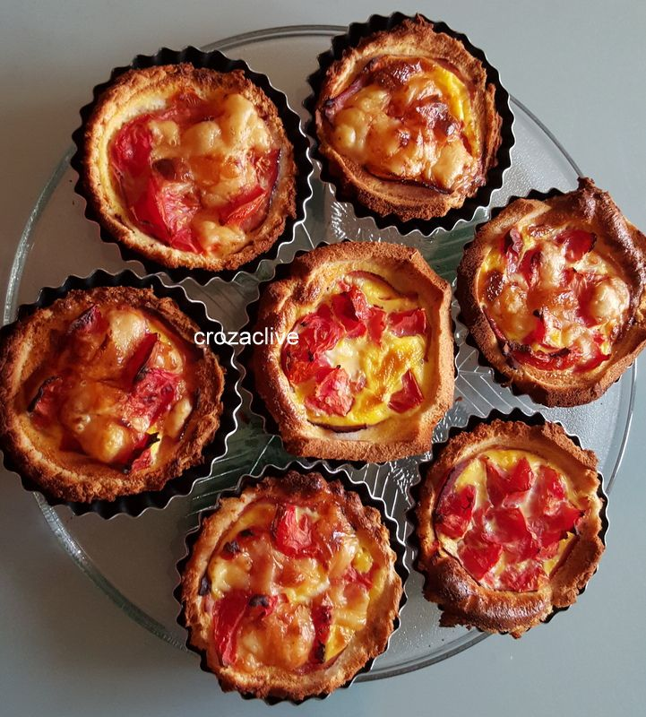 Mini Quiches sur pain de mie