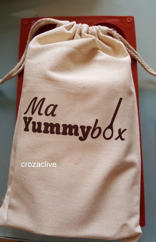 Ma Yummy box, août 2016