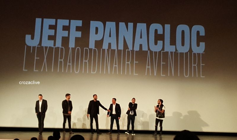 Jeff Panacloc : l'extra ordinaire aventure, Le Grand Rex