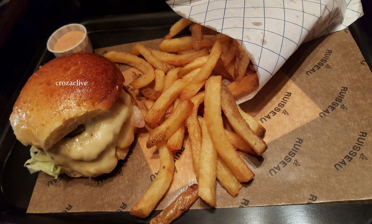 Le Ruisseau Burger Joint, restaurant Paris