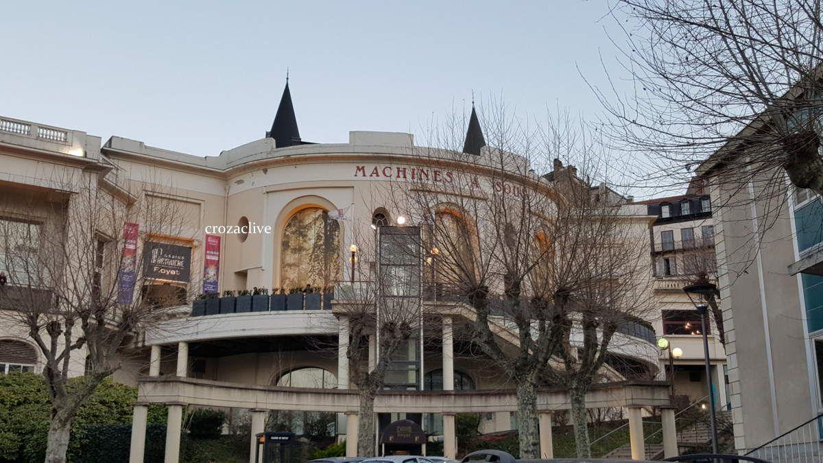 Jarry l'atypique au Casino de Royat, notre soirée.......