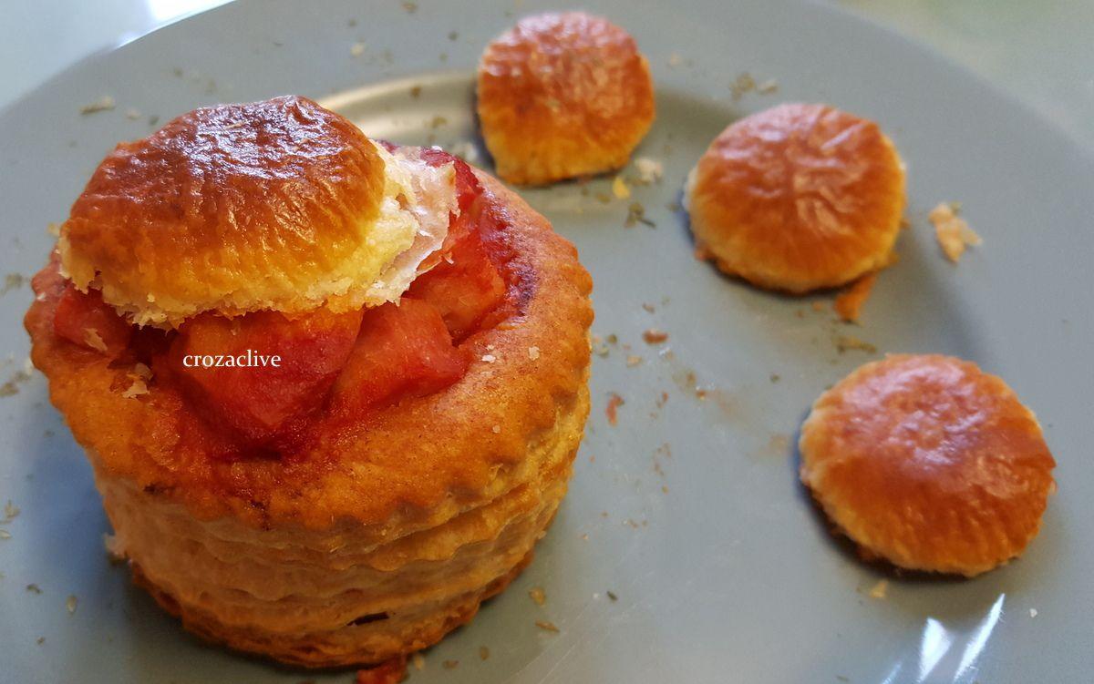 Bouchées à la reine à la pulpe de tomates CIRIO