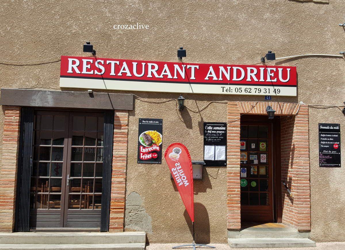 Restaurant ANDRIEU à Grenade (33)