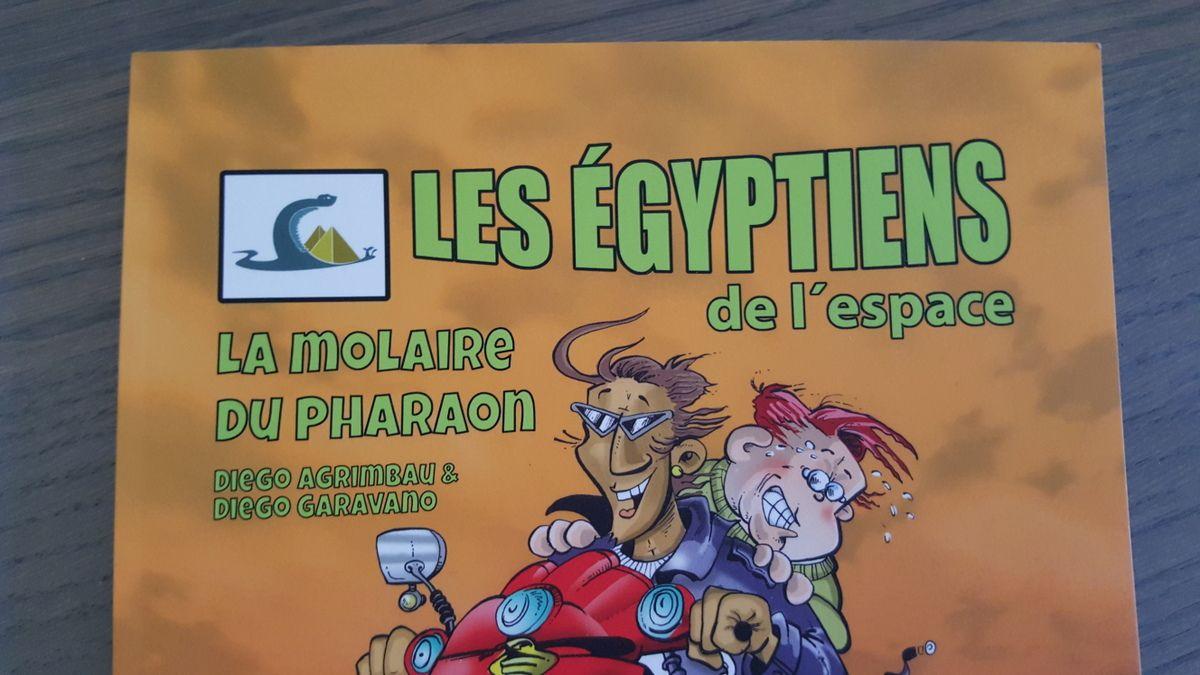 Les Egyptiens de l'Espace, Editions SAURE