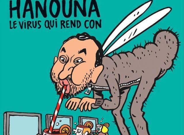 Une de Charlie Hebdo (février 2016)