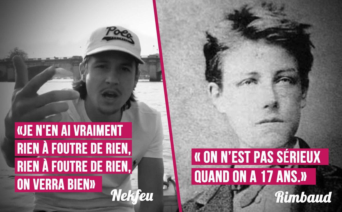 Dommage Morray : Nekfeu VS Rimbaud
