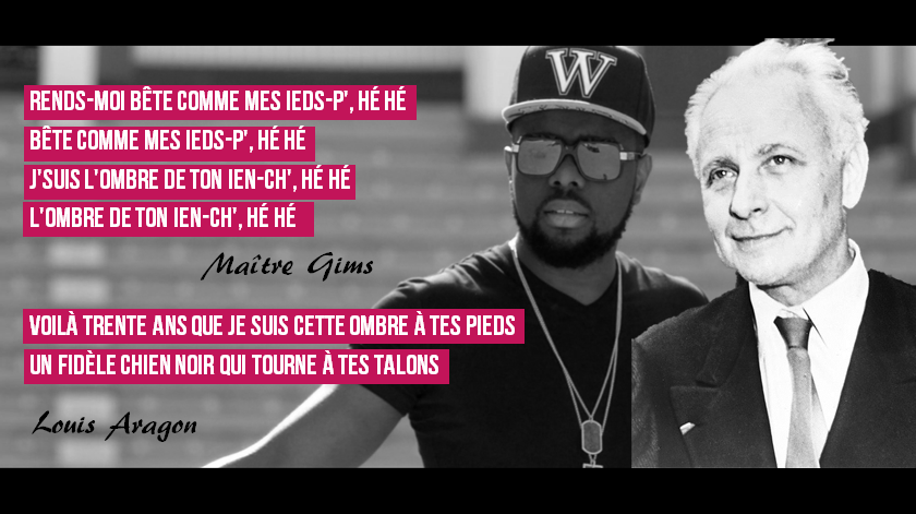 Maître Gims ft. Louis Aragon - Dommage Morray
