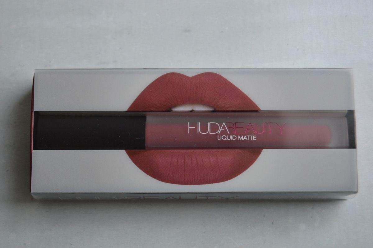 Rouge à lèvres HUDA : Une petite déception