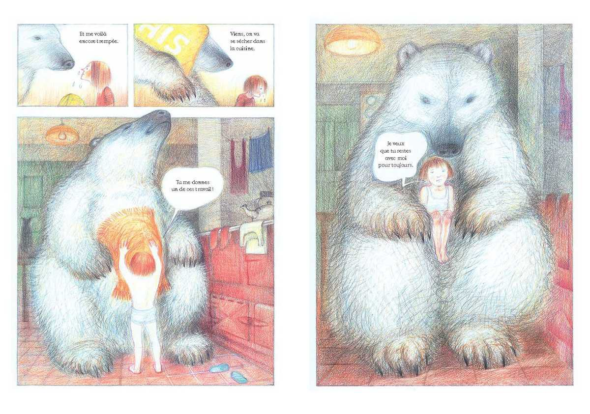 Lili et l'ours Raymond Briggs