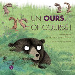 Un ours Of course Alice Zeniter