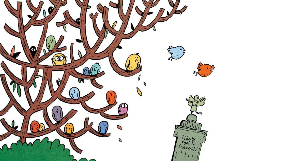 Ceux qui lisent Géraldine Collet, Illus. Sébastien Chebret