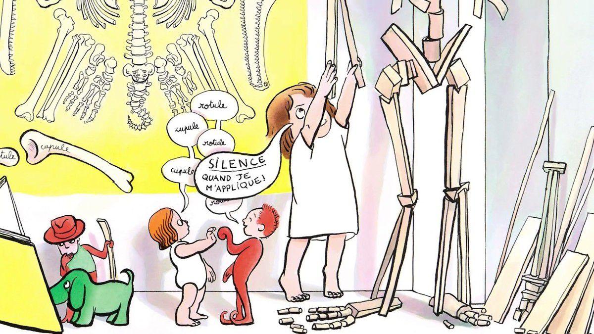 Comment fabriquer son grand frère : un livre d'anatomie et de bricolage - Anais Vaugelade