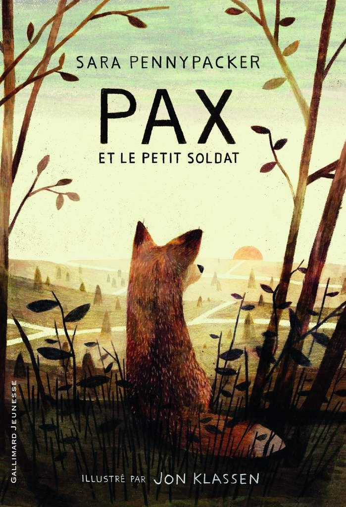 Pax et le petit soldat - Sarah Young, ill Jon Klassen - Gallimard jeunesse