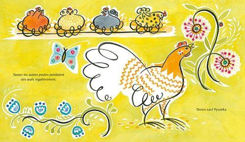 [Special Pâques] La poule qui ne pondait pas - Julie Paschis - ed. genevrier