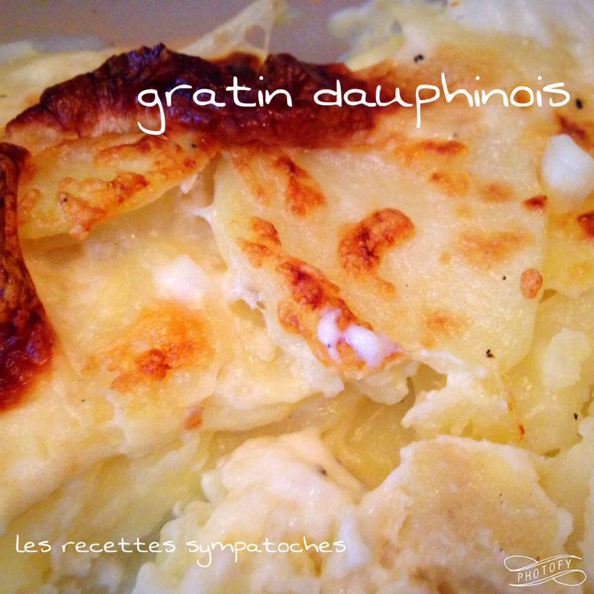gratin dauphinois les recettes sympatoches. Black Bedroom Furniture Sets. Home Design Ideas