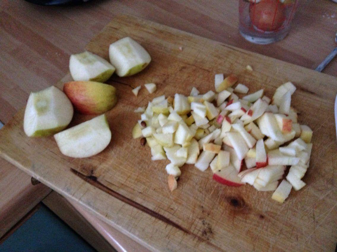 muffins pommes et noisettes