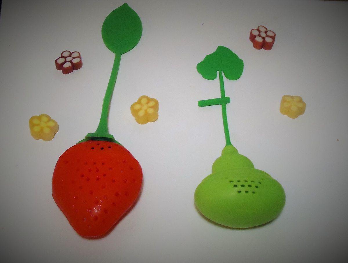 Mignons Infuseurs - matières silicone & plastique
