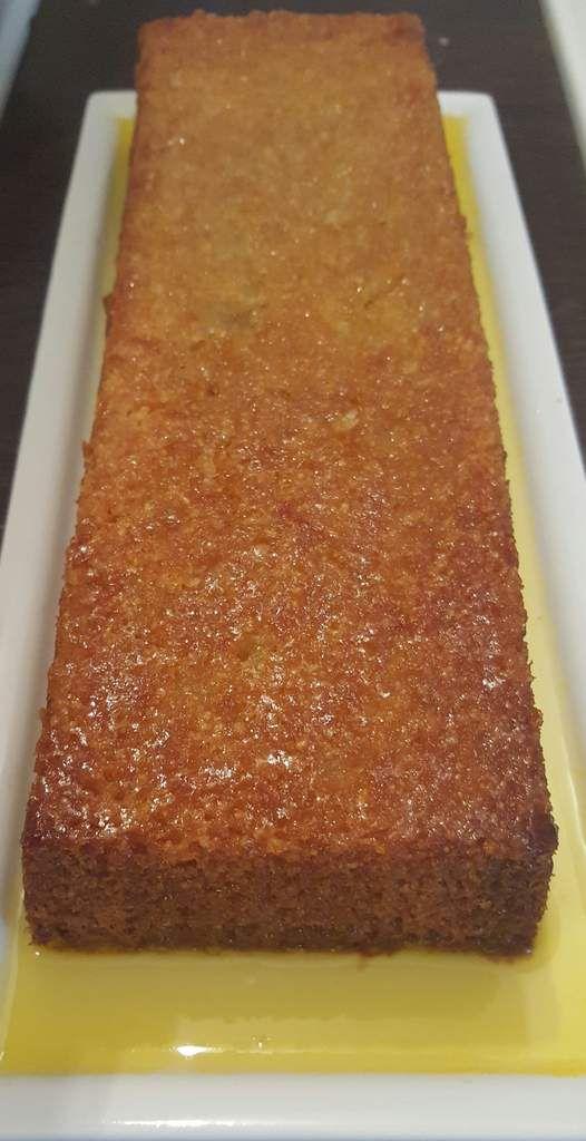 Cake marocain à l'amande
