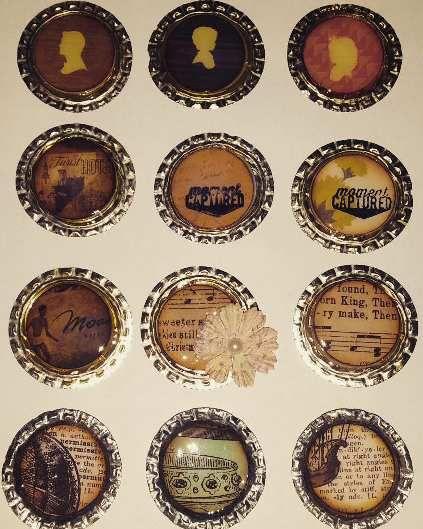 Badges vintage